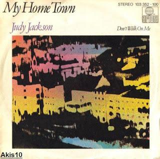 JUDY JACKSON - My Home Town,Vinyl 7\