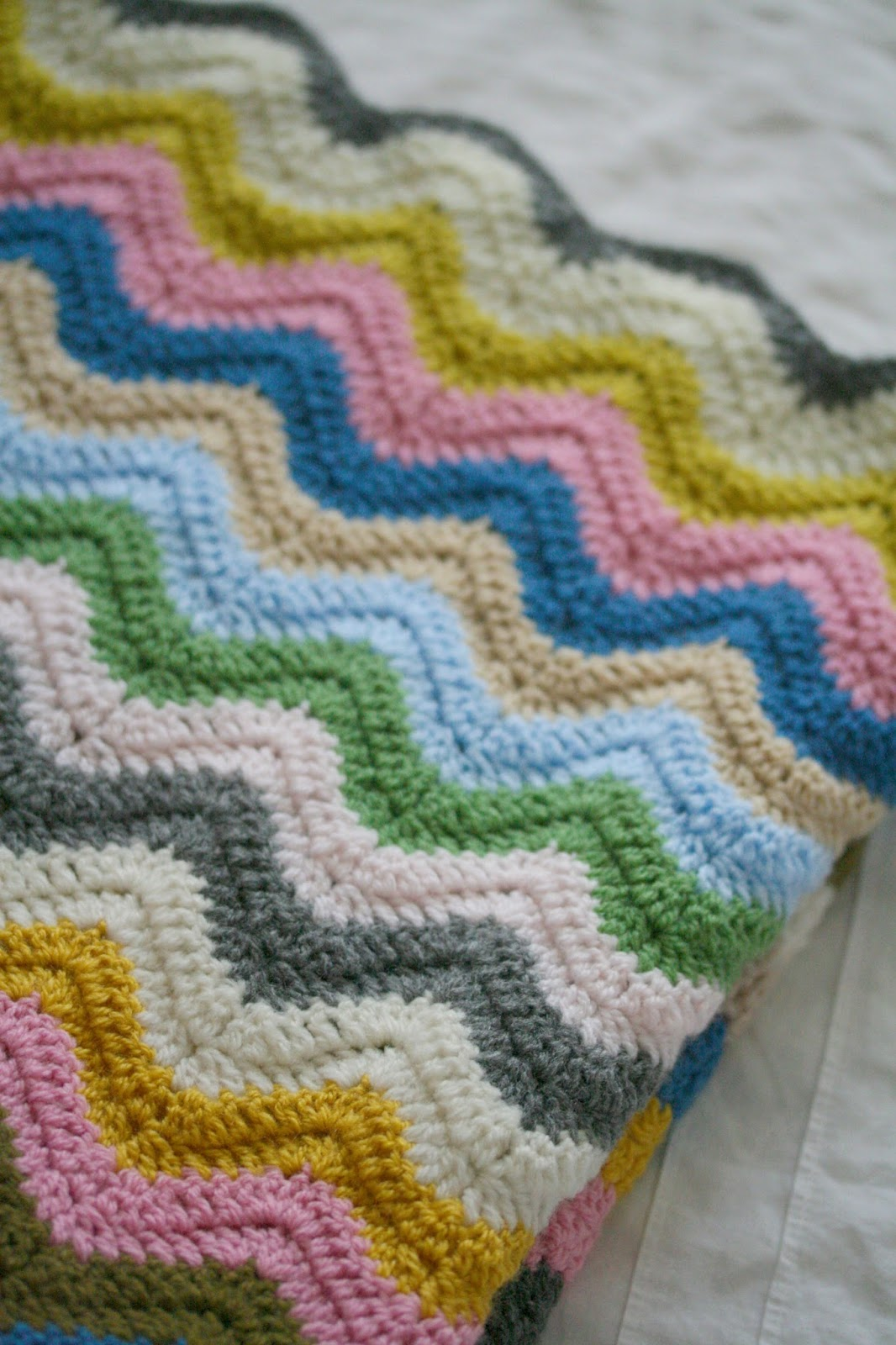 Coco Rose Diaries: Happy Scrappy Blanket Ta-Dah.....
