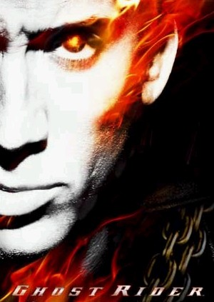 ghostrider wallpaper. Wallpaper: Nicholas Cage as