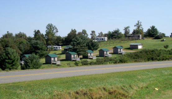 Passport America Site Seers Fancy Gap Cabins And