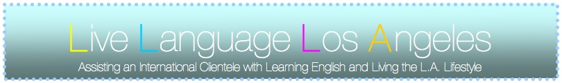 Live Language Los Angeles ESL Conversation Lessons in Santa Monica, CA