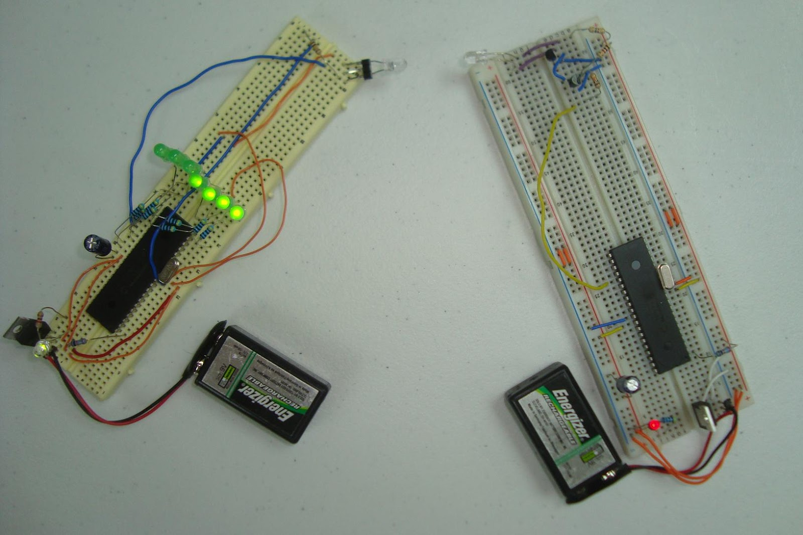 projectpiles com wireless infra red communication link photodiode in proteus an infra red link using an avr (lego