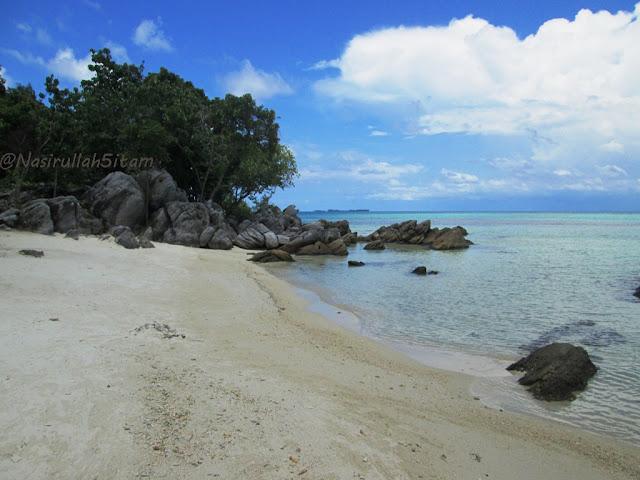 Inilah pantai Ujung Gelam Karimunjawa