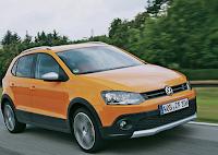 Current VW Crossfox spy