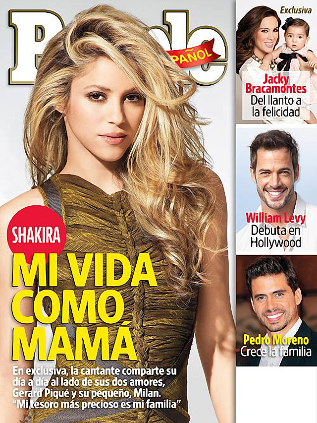 Shakira en portada de la revista People abril 2014