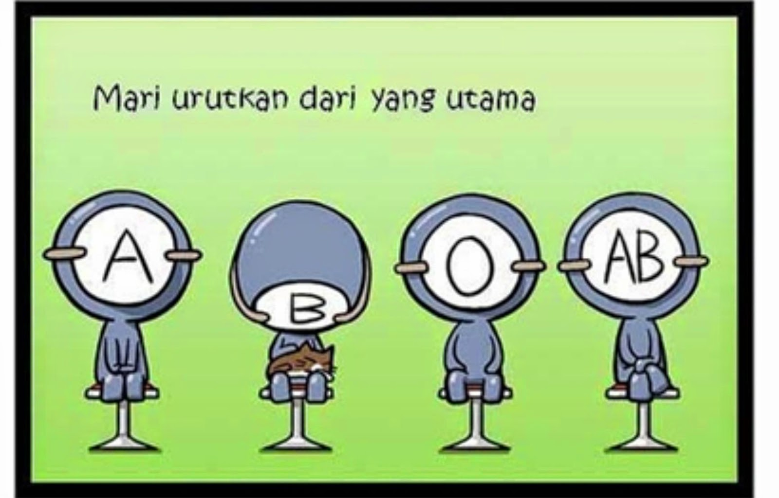 Komik Golongan Darah Syarat Pacar
