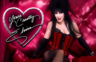 Valentine's Day greeting from Elvira