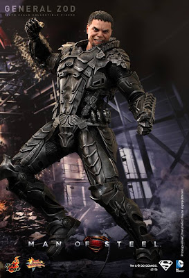 "Hot Toys Man of Steel 1/6 Scale General Zod 12"" Figure"