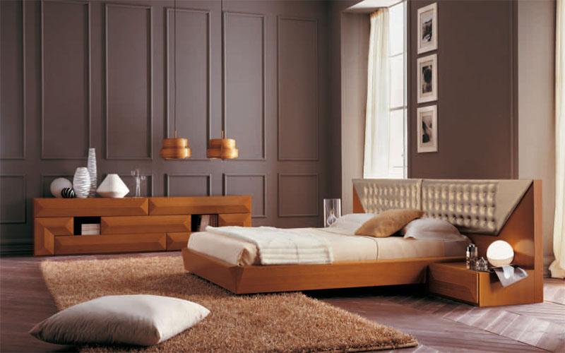 Dormitorios modernos en madera dormitorios con estilo - Dormitorios de madera ...