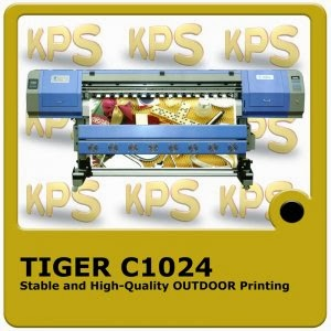 Tiger c1024 digital printing