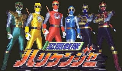 Ninpuu Sentai Hurricanger|| Ninpuu Sentai Hurricanger