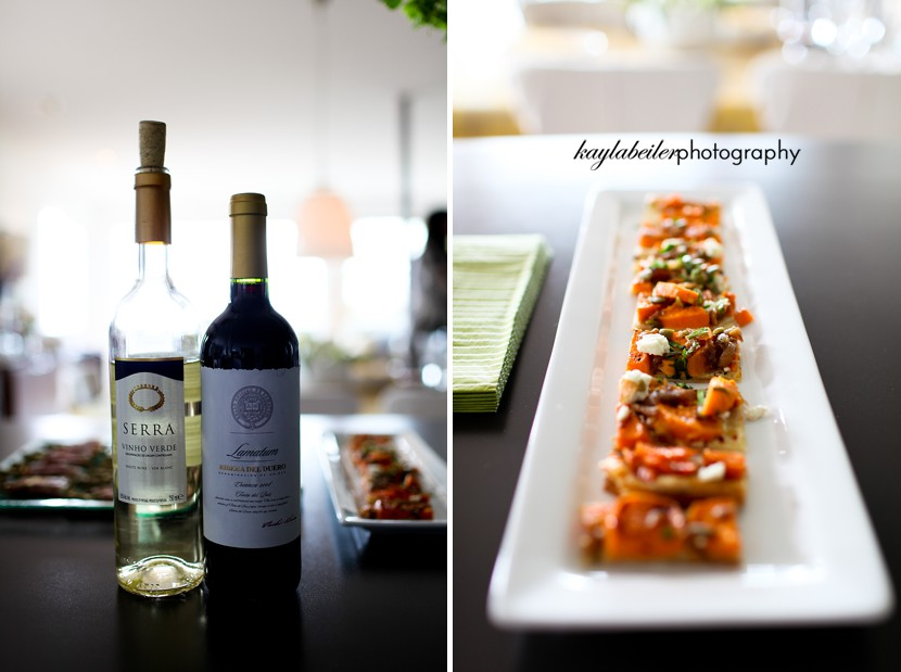 food and wine photo