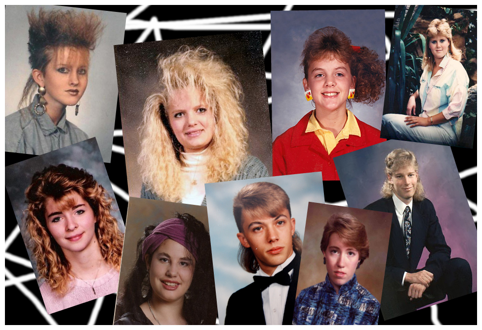 Breezy Craft And Art Pieces 80s Yearbook Snapshots That Youll Get A Kick Out Of