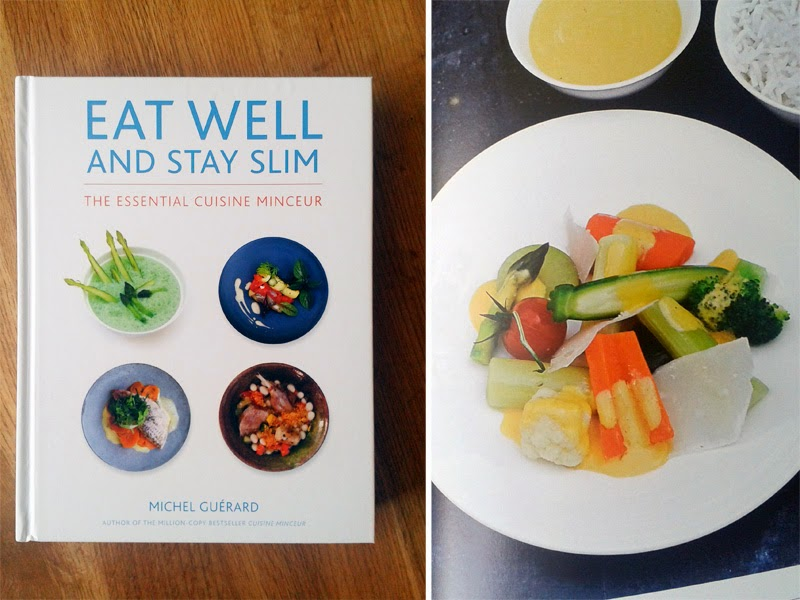 Book review eat well and stay slim the essential cuisine for Blog cuisine minceur