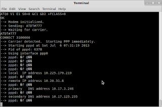 Menconnectkan modem smarffren diubuntu/linux mint