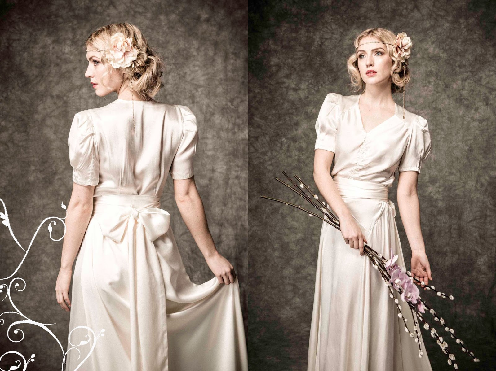 Fairenough march 2013 for 1930 style wedding dresses