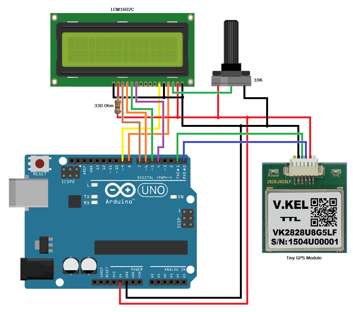 Nico s hobbies arduino and the tinygps module