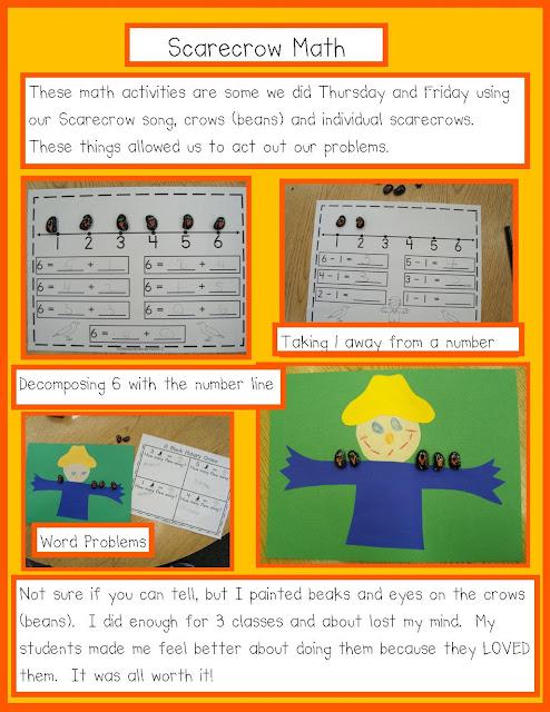 Scarecrow Math Activities for Kids