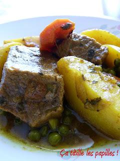 Ça titille les papilles !,boeuf, tajine, légumes, épices, Maroc