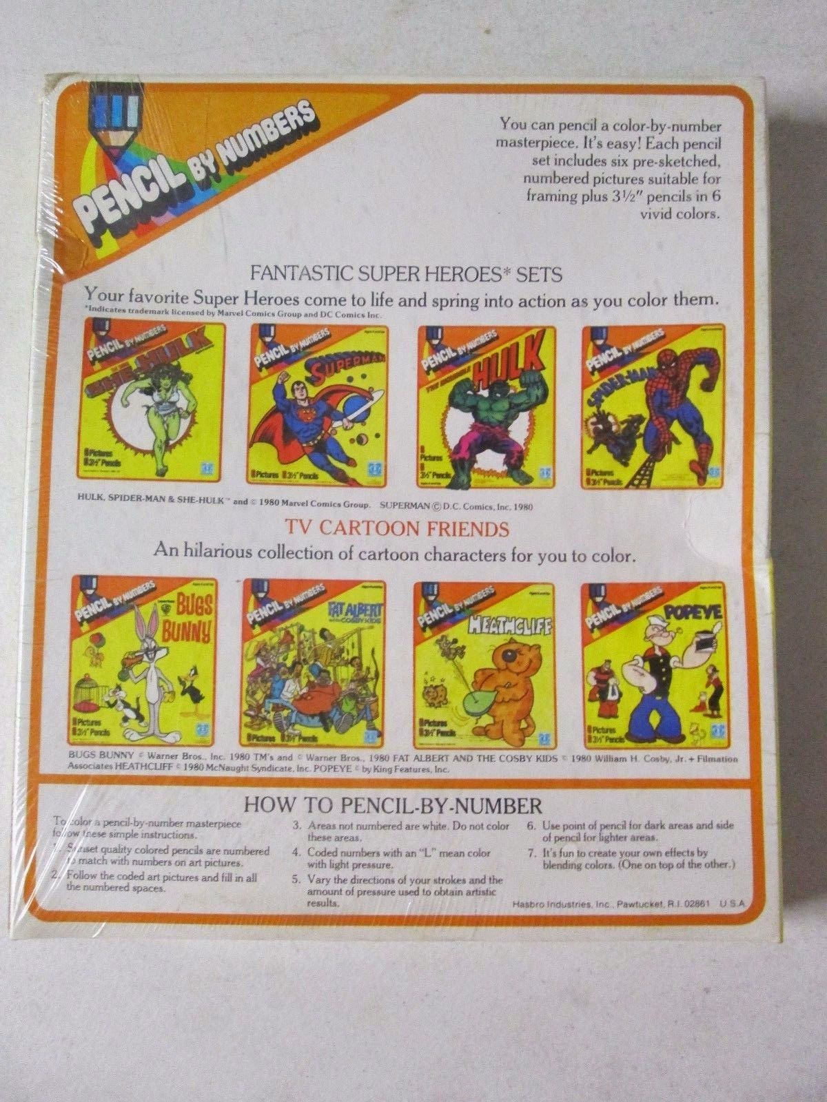 marvel comics of the 1980s 1980 she hulk pencil by numbers