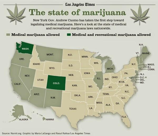 Nova York legaliza maconha medicinal