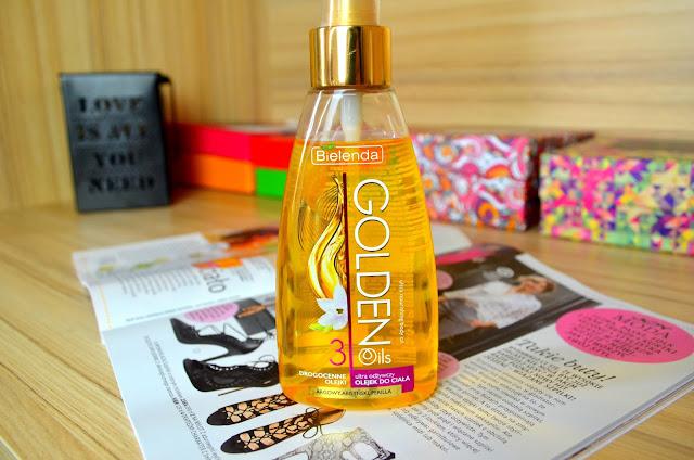 GOLDEN OILS Ultra odżywczy olejek do ciała z drogocennymi olejkami