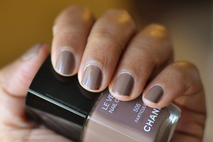 Chanel Nail Tips http://www.weekendramblings.com/2012/06/chanel-nail-polish-particuliere-le.html