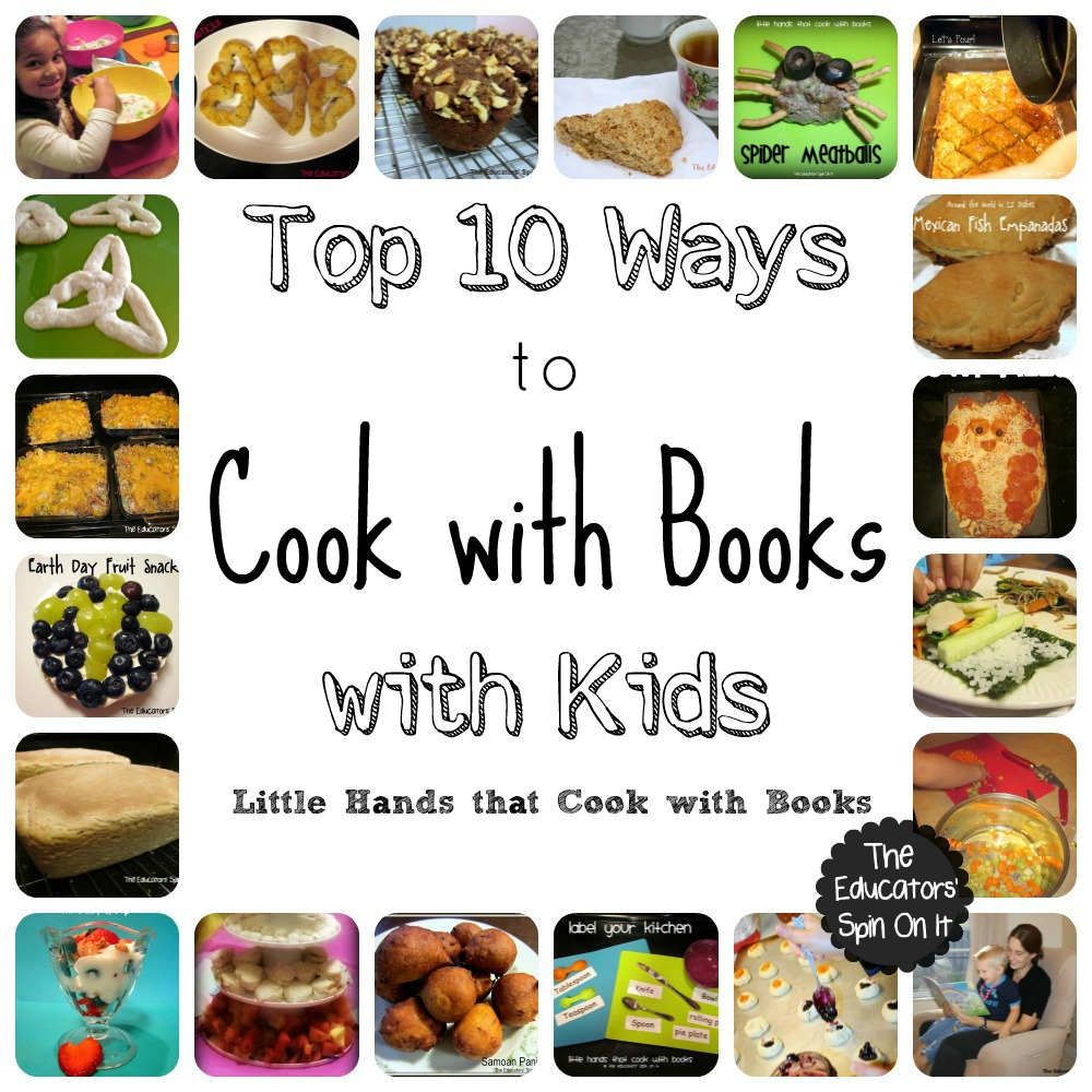 Top 10 ways to cook with books with your kids this summer