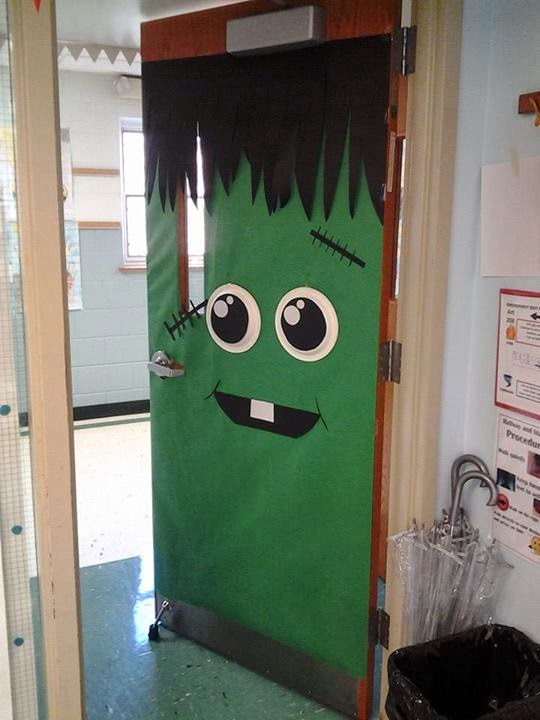 Decorating Ideas > Classroom Door Decorating  Art Gone Loco ~ 153254_Halloween Door Ideas School
