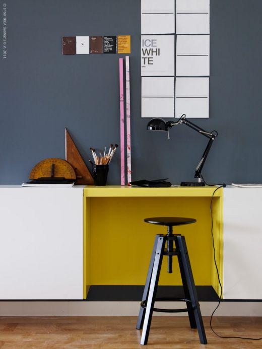 Insp rate estudio con m dulos besta de ikea - Ikea inspiration salon ...