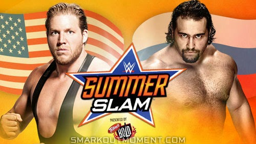 Jack Swagger defeats Rusev in Flag Match at SummerSlam 2014?