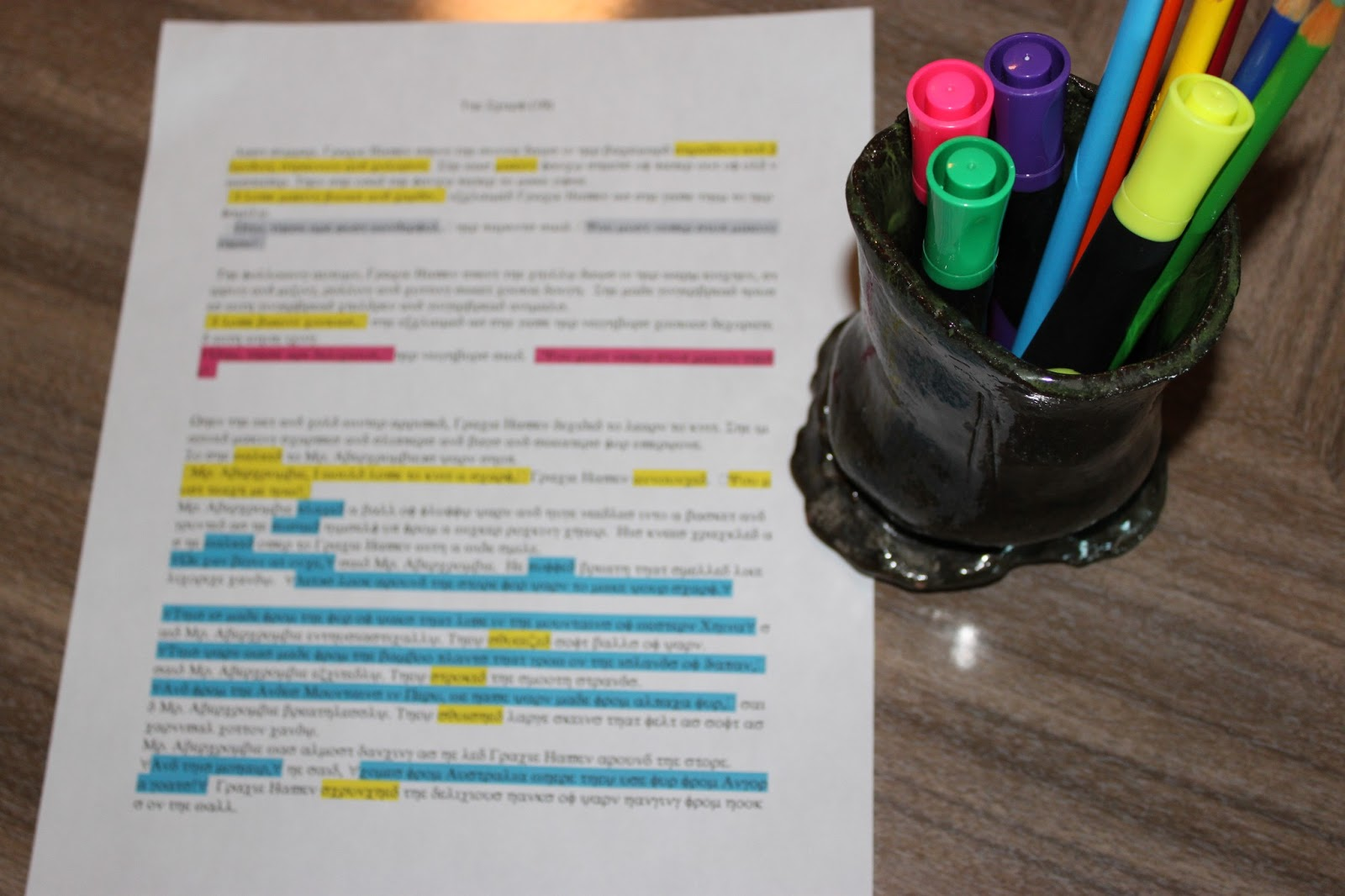 Essay Revision essay revision essay revision highlighters