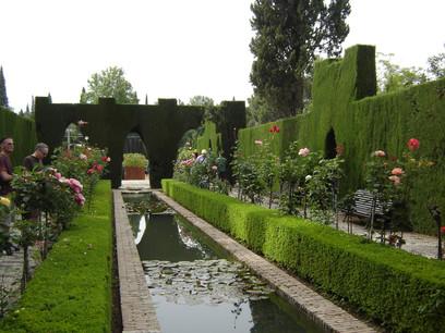 Delirio andalus la alhambra un lujo para la vista un rinc n nazar - Residencia los jardines granada ...