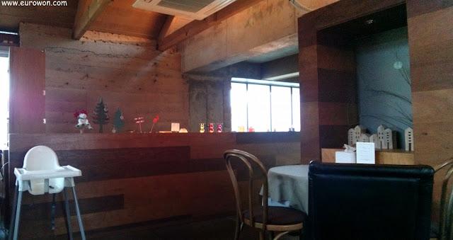 Interior del restaurante Namoo@906 de Daegu