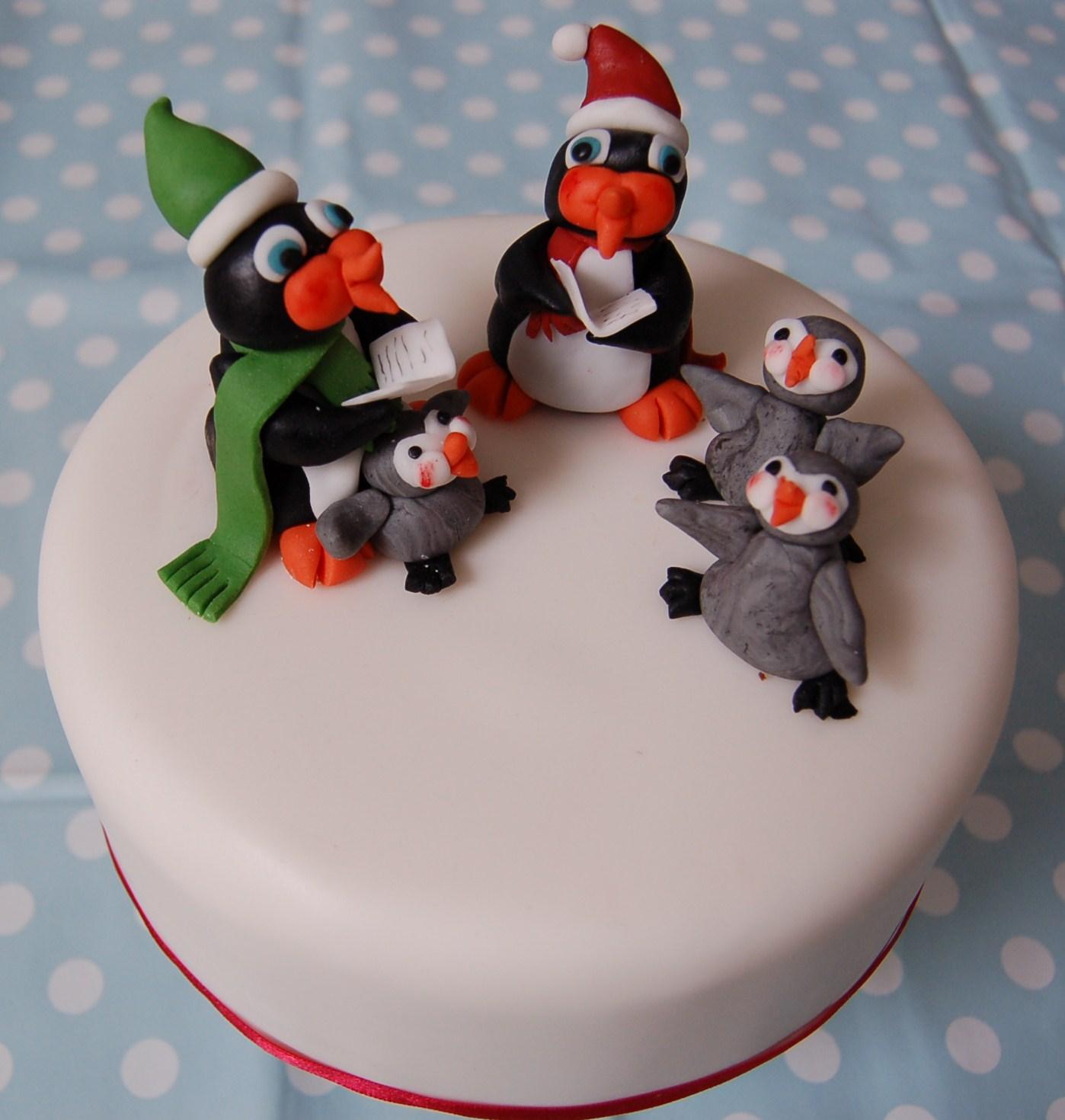 Penguin Christmas Cake Images : Brighton Baker: October 2011