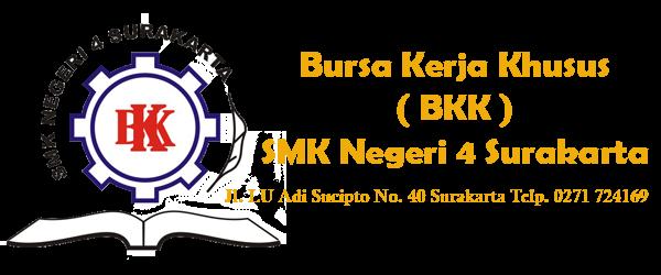 Bursa Kerja Khusus [BKK] SMK Negeri 4 Surakarta | Informasi Lowongan Kerja