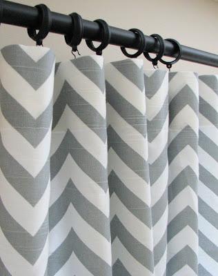 Flat panel curtains