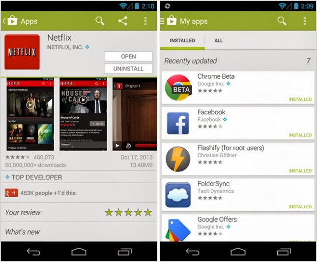 google play store apk android 4.4.2
