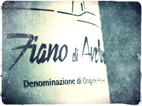 FIANO DI AVELLINO 2012 - D.O.P. - Ciro Picariello