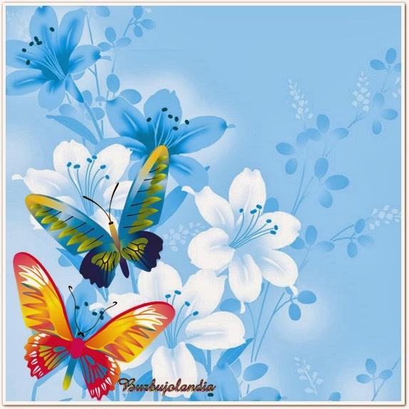 Mi Mundo-Tu Mundo: Fondos Decorados Con Mariposas Para Hacer Tarjetas