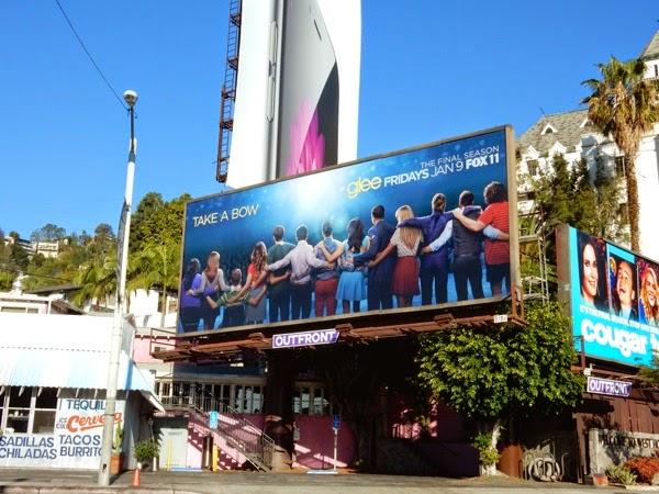 Glee final season billboard