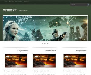 GreenMagazine WordPress Theme