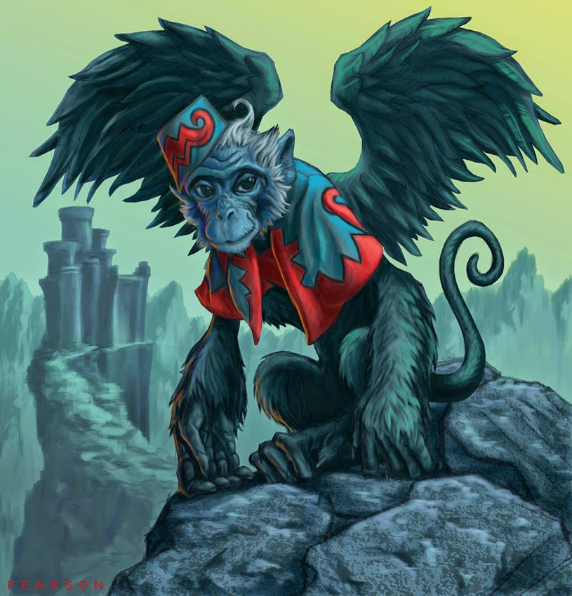 photos of flying monkeys from the wizard of oz