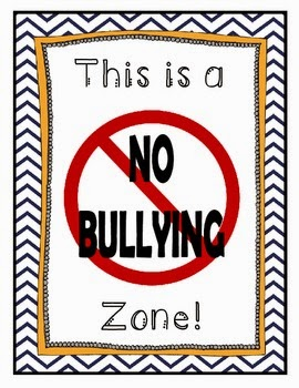 http://www.teacherspayteachers.com/Product/No-Bullying-Zone-Poster-FREEBIE-765267