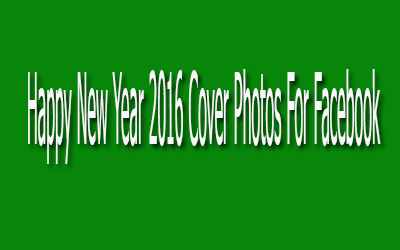 Happy New Year 2016 Cover Photos For Facebook