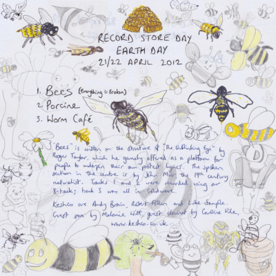 Bees back cover
