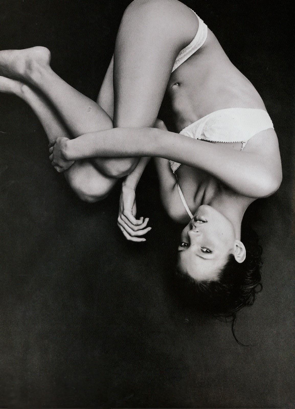 Kate Moss in Body of evidence | Harper's Bazaar US July 1993 (photography: Patrick Demarchelier)