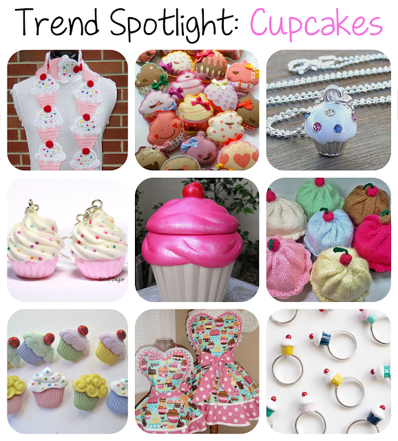 trend spotlight - Cupcakes from Etsy