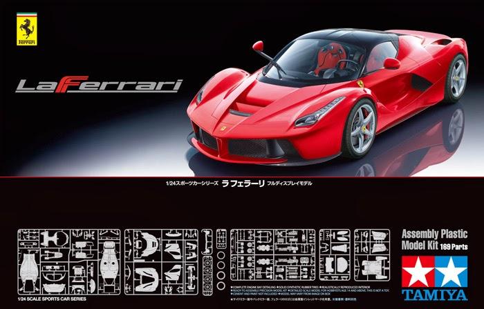 King's Hobby Shop: Tamiya La Ferrari Build Review by Johnny Seaman