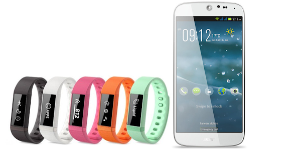 Acer Liquid Leap wearable and Acer Liquid Jade